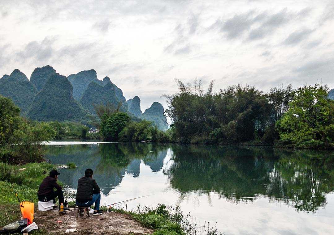 Gone Fishing on the Yulong River