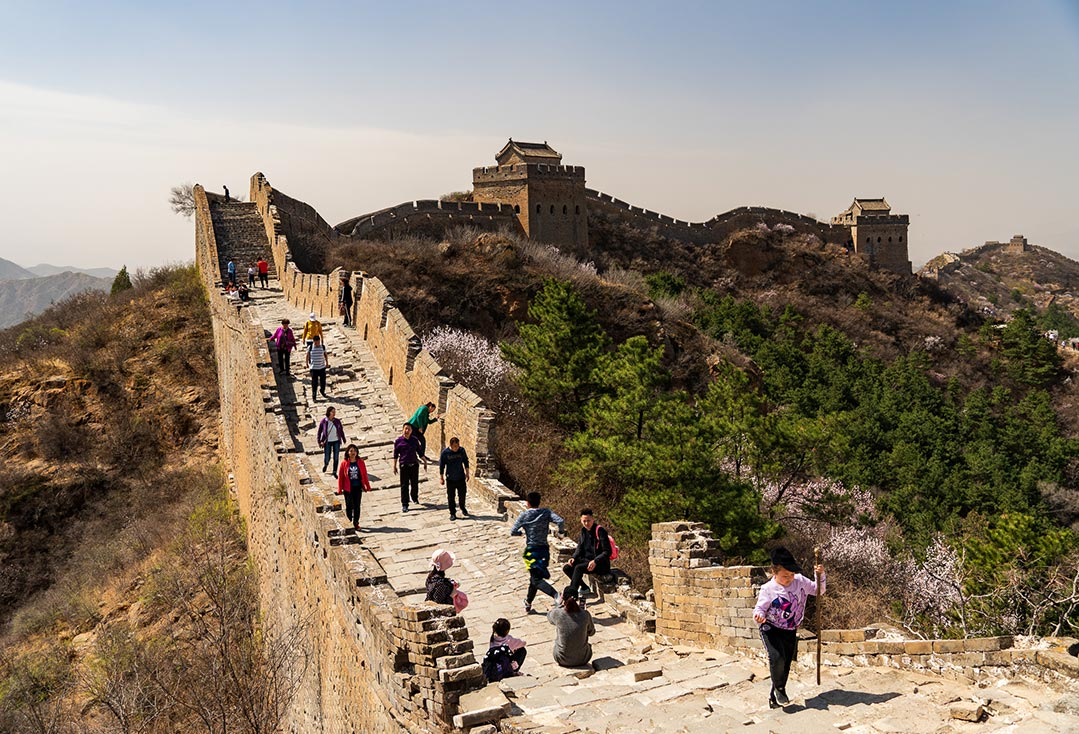 Hiking the Great Wall, Jinshangling