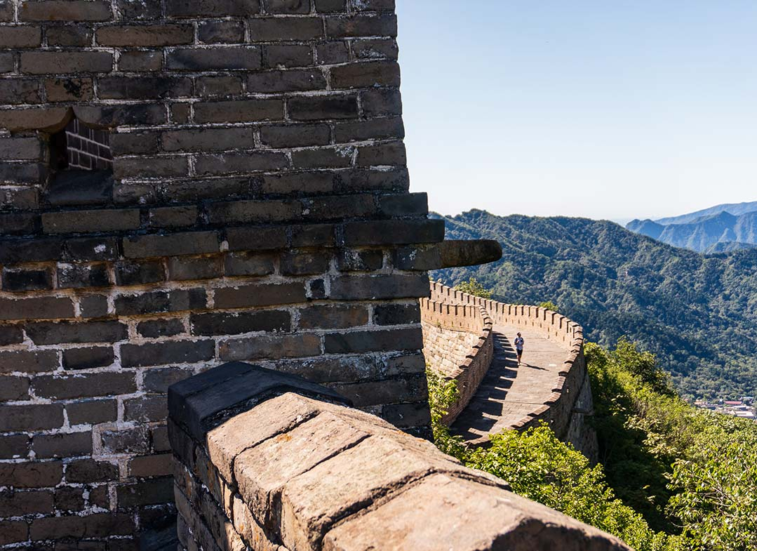 Hiking the Great Wall, Mutianyu
