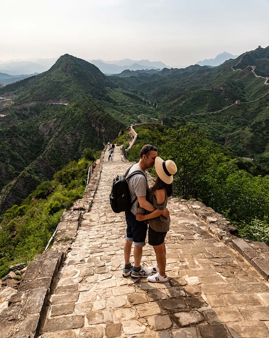 Kissing on the Great Wall, Simatai