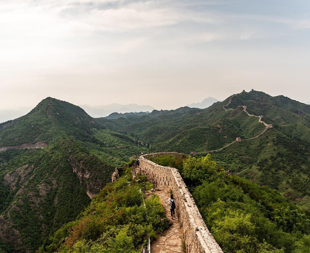 Hiking the Great Wall, Simatai