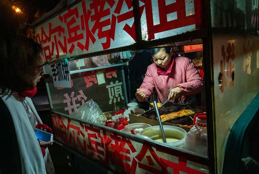 Jianbing Street Vender