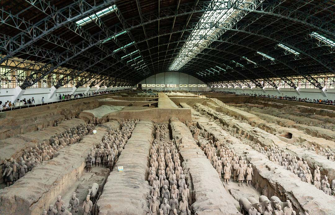Terracotta Army, first pit