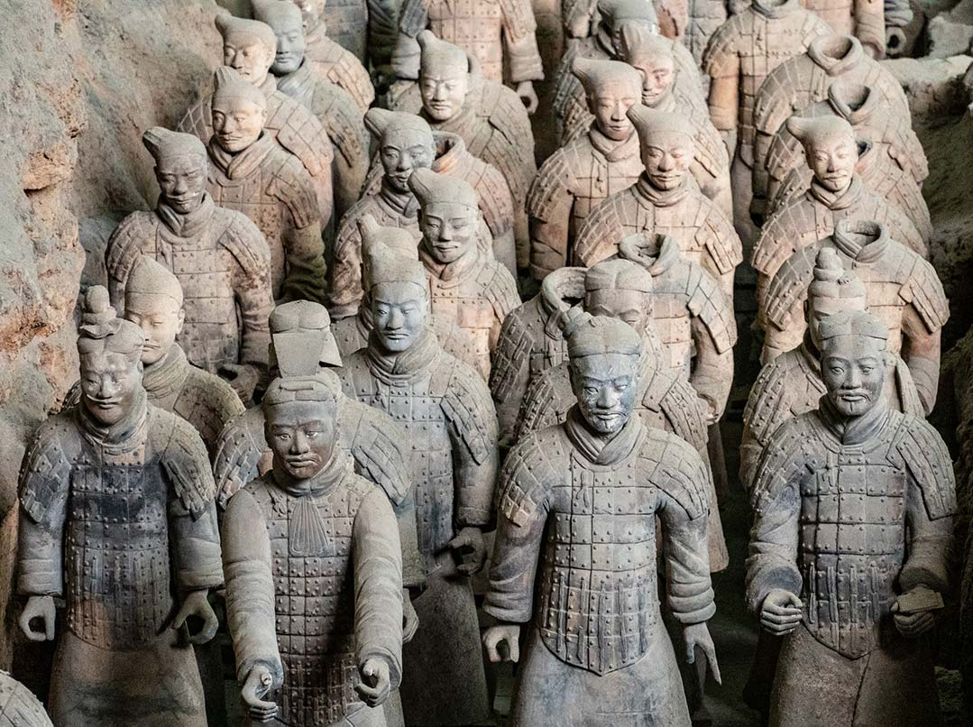 Terracotta Warriors in first pit