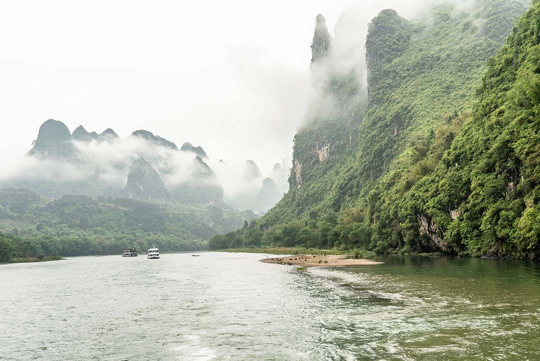 Cruising the Yulong River