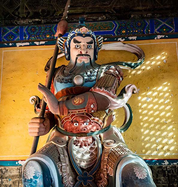 One of the Guardians of Zhandai Gate