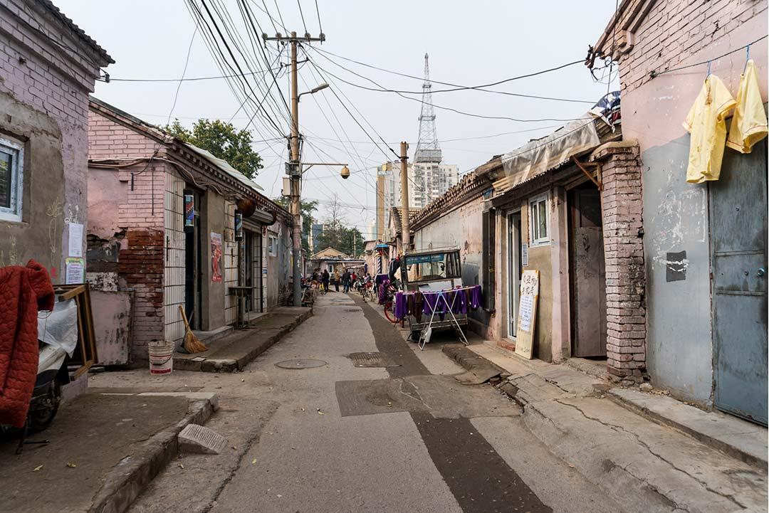 Heading east on Huashiying E Alley