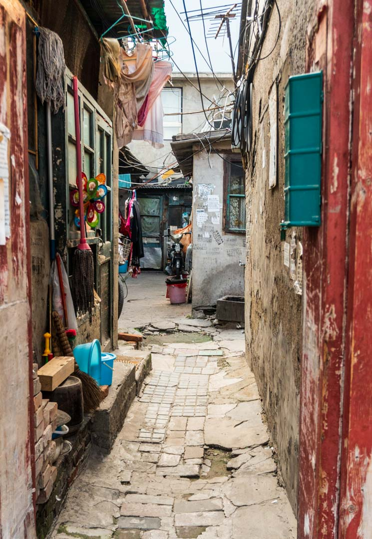 Hutong side alley