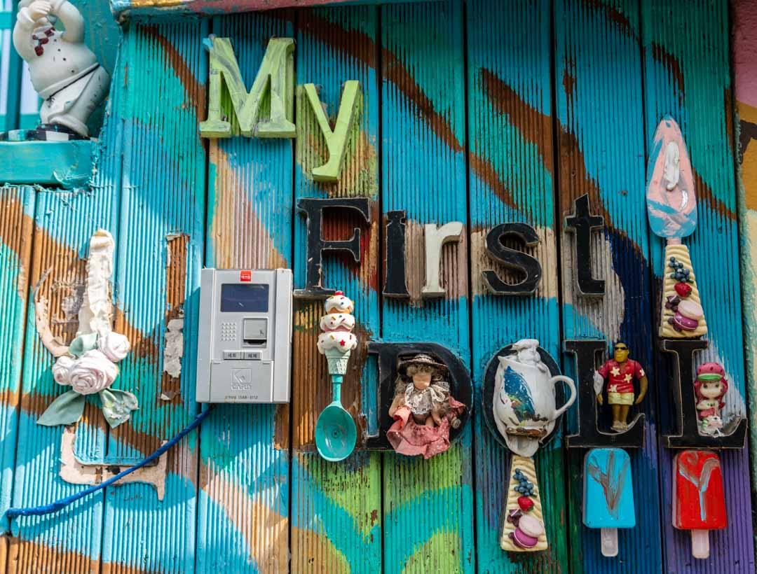 Busan - Gamcheon Culture Village - Grand Budapest Doll Hotel